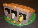 Pferdestall-Torte