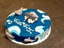 Sarah\'s Delphinen Torte