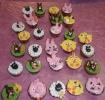Ostercupcakes mit Kinder